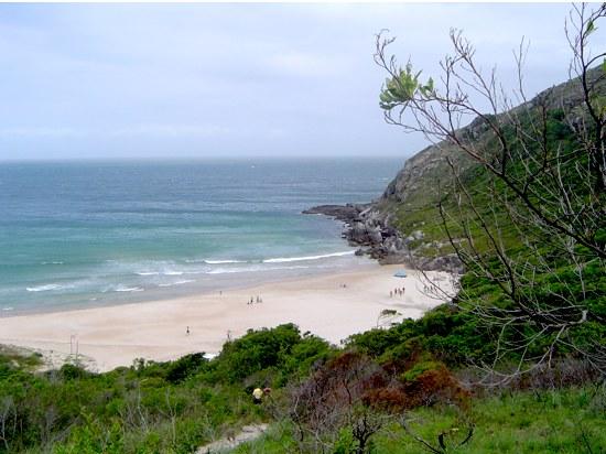 Despedida do canto direito da praia...
