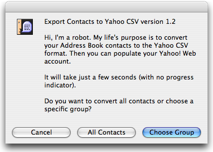 Import and export contacts in Yahoo Mail. Clean up your digital life and save up to of your contacts in one place. Yahoo Mail lets you import contacts from linked accounts or saved files, and export your contacts as a back up.