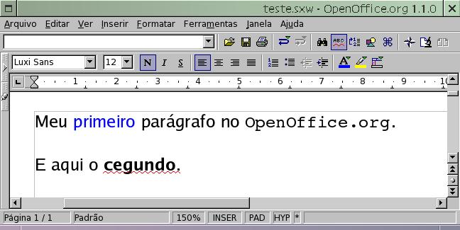 arquivo sxw