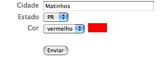 CAPTCHA de pobre - Cores