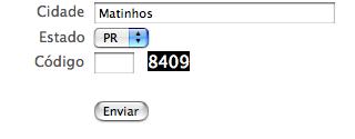 CAPTCHA de pobre - Numeros