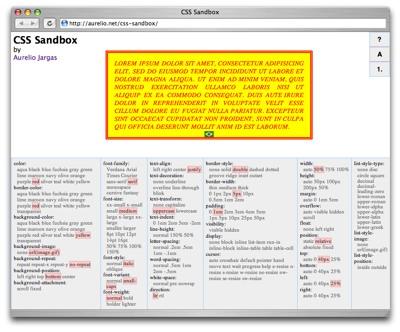 CSS Sandbox