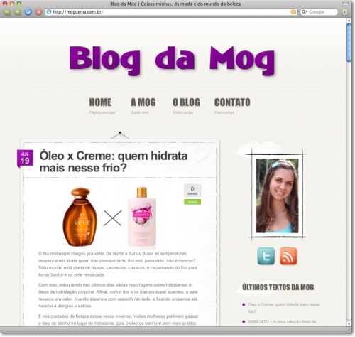 Blog da Mog