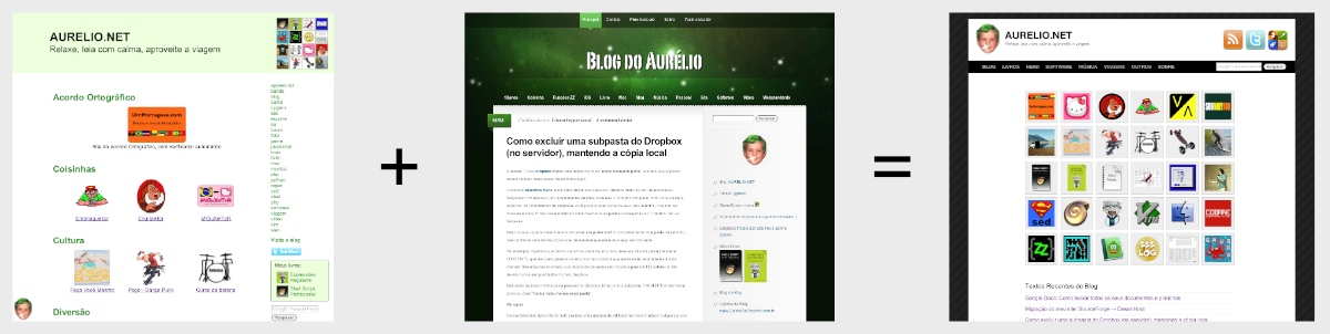 Site + Blog = Ambos