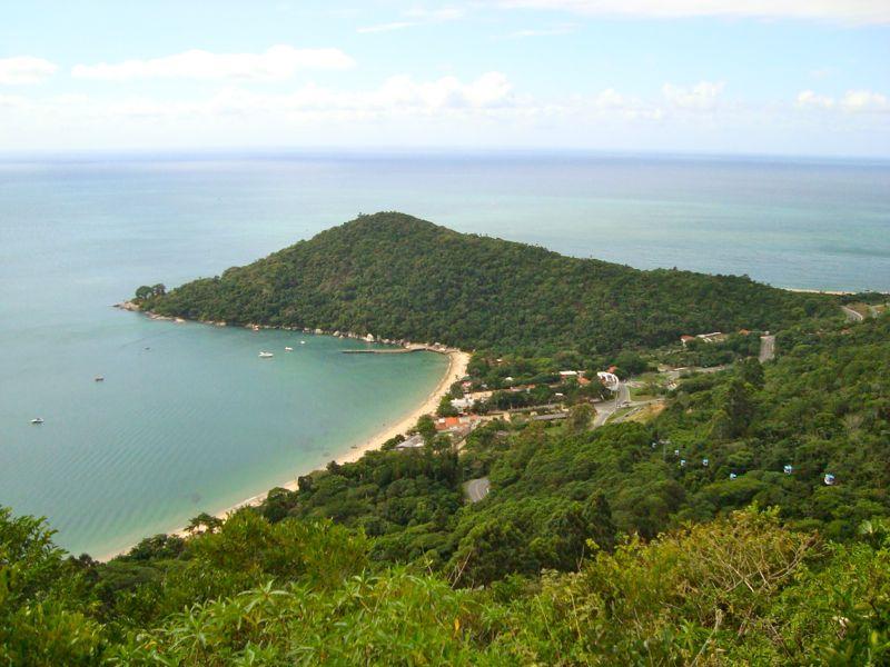 Vista da Praia de Laranjeiras